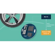 World's first TPMS integrated by OEMs with Bluetooth® Technology