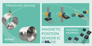 Melexis Reinvents Triaxis® Position Sensors for its mainstream automotive applications
