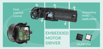 MLX81206 Embedded Motor Driver