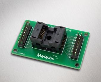 Pressure socket board SOIC16 - Melexis