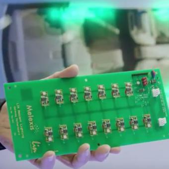 LIN RGB LED Driver - Melexis