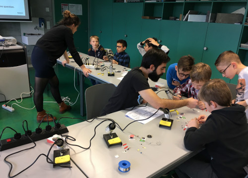 Melexis Bevaix supports STEM
