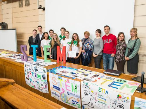 STEM project in Kiev